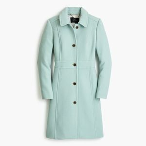 J.Crew Italian double-cloth wool lady day coat 2P